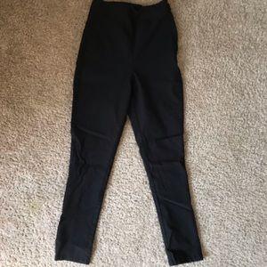 ModCloth High waist black capris